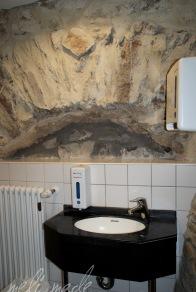 Selbst die Toilettenräume haben Liebe zum Detail